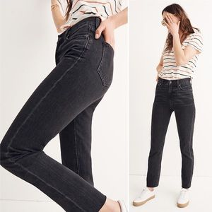 Madewell | Perfect Summer Jeans in Crawley Black